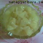 кабачки в ананасном соке