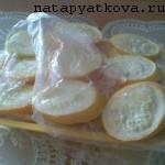 кабачки в заморозке
